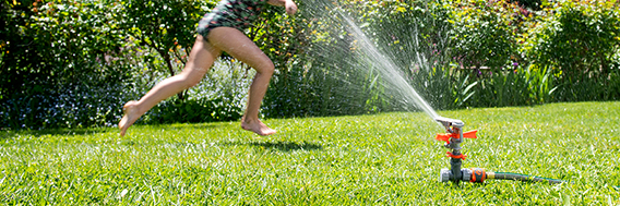 Selecting the right sprinkler for your home