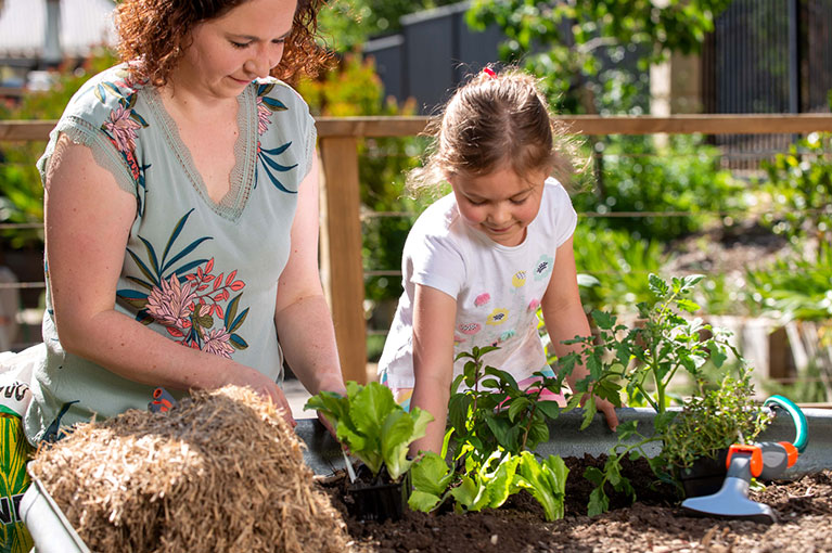 How to start gardening with your kids