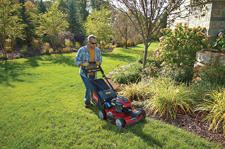 The art of mowing your lawn